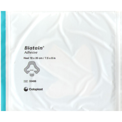 Biatain / Биатен - губчатая повязка на пятку, 19х20 см