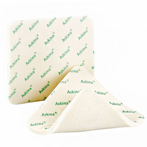 Askina Foam / Аскина Фоам - губчатая полиуретановая повязка, 20х20 см