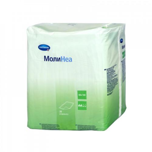 MoliNea / МолиНеа - впитывающие пеленки, 90х180 см, 130 гм2, 20 шт.