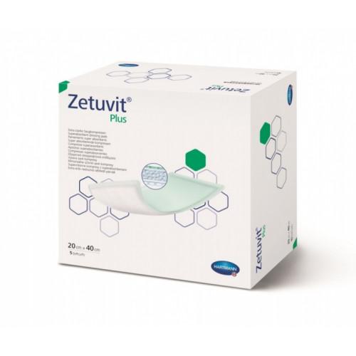 Zetuvit Plus / Цетувит Плюс - стерильная впитывающая повязка, 20х40 см