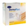 DermaPlastTextile Elastic / ДермаПласт Текстайл Эластик – пластырь гипоаллергенный, из эластичного материала, телесный, 6 см х 5 м