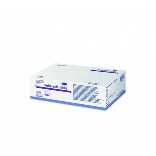 Peha-Soft Nitrile / Пеха-Софт Нитрил– нитриловые перчатки без пудры, нестерильные, XS, 100 шт.