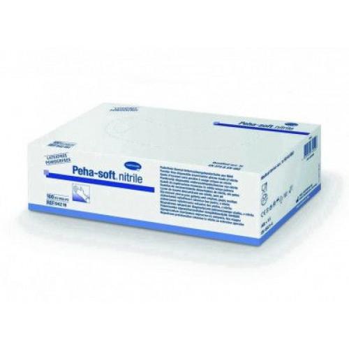 Peha-Soft Nitrile / Пеха-Софт Нитрил– нитриловые перчатки без пудры, нестерильные, L, 100 шт.