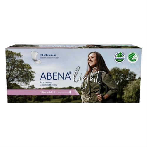 Abena Light Ultra Mini / Абена Лайт Ультра Мини - урологические прокладки, 24 шт.