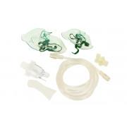 Amrus AMNB №2 / Амрос АМНБ №2 - набор комплектующих для ингаляторов (стаканчик для распыления, мундштук, трубка воздуховодная, маска)