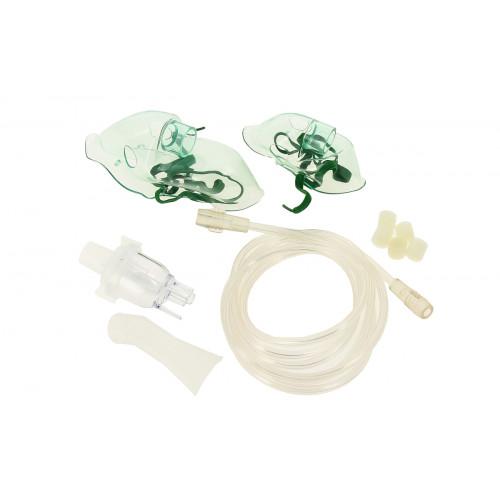 Amrus AMNB №2 / Амрос - набор комплектующих для ингаляторов (маски, фильтр, мундштук, колпачок, дефлектор, чашка ингалятора)