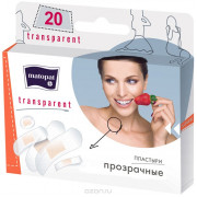 Matopat Transparent / Матопат Транспарент - пластырь, 5 размеров, 20 шт.