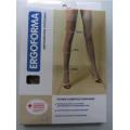 Ergoforma / Эргоформа - компрессионные чулки (2 класс, 23-32 мм. рт. ст.), №1, бронза