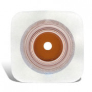 ConvaTec Combihesive 2S / Конватек Комбигезив 2S - облегченная пластина для стомного мешка, 57 мм