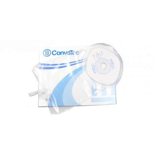 ConvaTec Stomadress Plus / Конватек Стомадресс Плюс - прозрачный однокомпонентный мочеприемник, 19 мм
