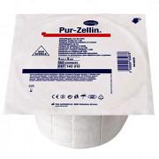 Pur-zellin / Пур-целлин - тампоны-подушечки из креп.бумаги, 4х5 см, 1х500 шт, нестерильные