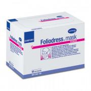 Foliodress mask comfort senso / Фолиодрес мэск комфорт сэнсо - маска на лицо из нетканого материала для чувствительной кожи, 50 шт, зеленая