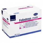 Foliodress mask comfort perfect / Фолиодрес мэск комфорт пёрфект - маска на лицо из нетканого материала для кожи с нормальной чувствительностью, 50 шт, зеленая