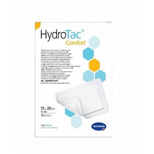 HydroTac Comfort / ГидроТак Комфорт - самоклеящаяся губчатая повязка с гидрогелевым покрытием, 15x20 см