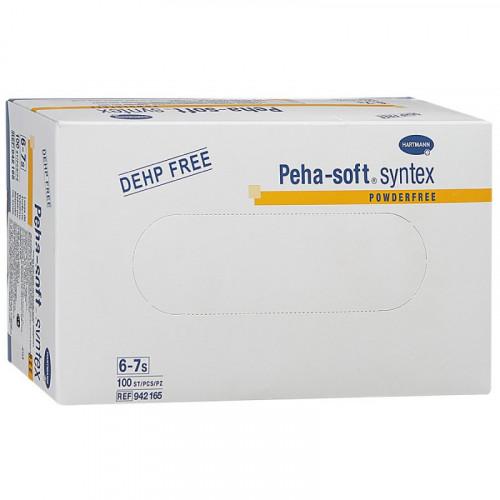 Peha-Soft Syntex / Пеха-Софт Синтекс - виниловые перчатки без пудры, XS, 100 шт.