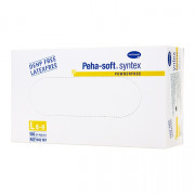 Peha-Soft Syntex / Пеха-Софт Синтекс - виниловые перчатки без пудры, 100 шт, L