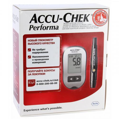 Accu-Chek Performa / Акку-Чек Перформа - глюкометр (комплект)