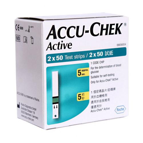 Accu-Chek Active / Акку-Чек Актив - тест-полоски, 100 шт.