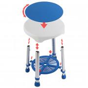 Valentine International / Валентайн Интернэшнл - стул для ванны с вращающимся сиденьем