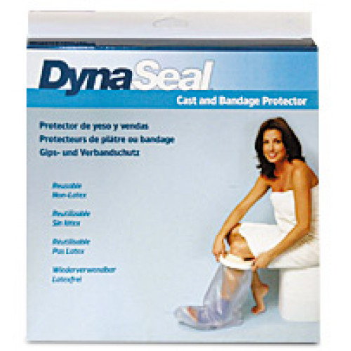 DynaSeal / ДинаСил- защитный чехол от воды для гипса, на стопу, 28 см