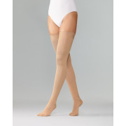 Varisan Fashion / Варисан Фэшн - компрессионные чулки (1 класс), размер №4, нормальной длины, бежевые