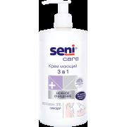 Seni Care / Сени Кейр - крем моющий 3 в 1, 1000 мл