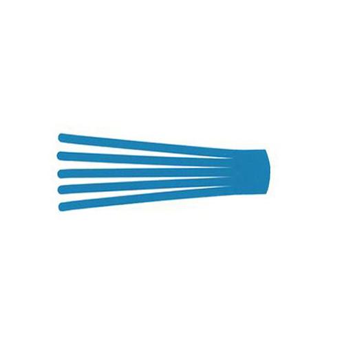 BB Edema Strip Max - кинезио тейп преднарезанный с усиленным клеем, голубой, 7,5x25 см,