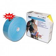 BBTape Max / БиБи Тейп Макс - кинезио тейп с усиленным клеем, голубой, 5 см x 32 м