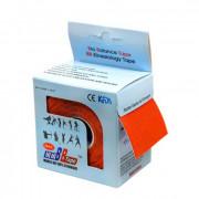 BBTape Max - кинезио тейп с усиленным клеем, оранжевый, 5 см x 5 м