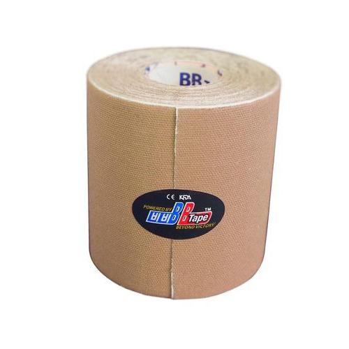 BBTape / БиБи Тейп - кинезио тейп, бежевый, 7,5 см x 5 м