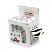 BBTape / БиБи Тейп - кинезио тейп, зебра, 5 см x 5 м