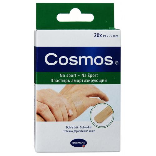 Cosmos Sport / Космос Спорт - пластырь-пластинка из полиуретановой пленки, эластичный, 20 шт.