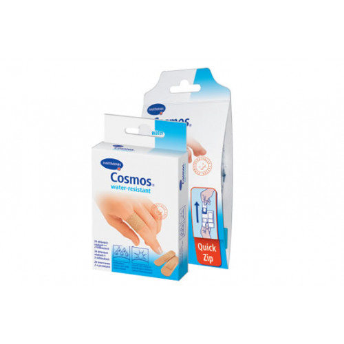 Cosmos Water-Resistant / Космос Вотер-Резистант - пластырь, водоотталкивающий, 6х10 см, 5 шт.