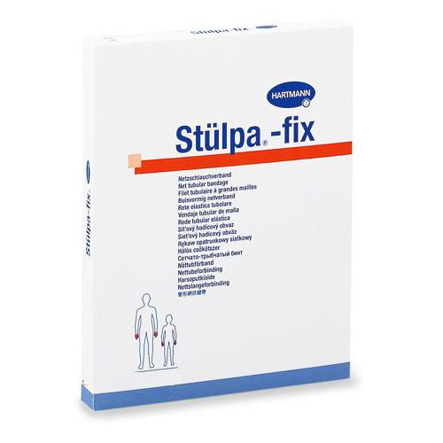 Stulpa-Fix / Штюльпа-Фикс - бинт трубчатый, сетчатый, № 3, 25 м, белый