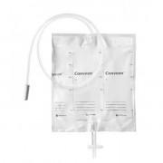 Conveen Basic / Конвин Бейсик - прикроватный мочеприёмник, 2000 мл, трубка 100 см