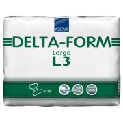Абена Дельта-Форм / Abena Delta-Form - подгузники для взрослых L3, 15 шт.