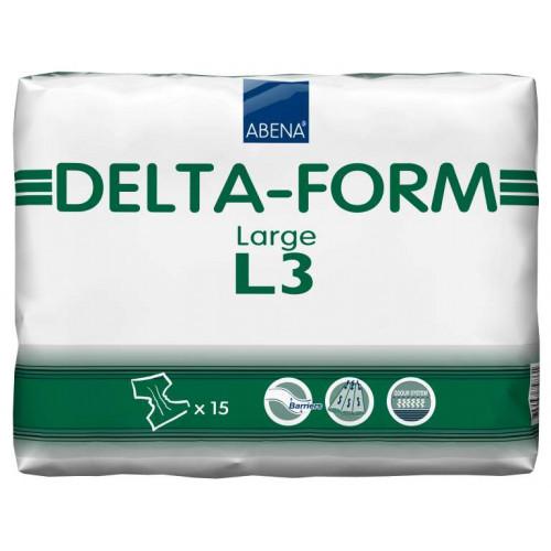 Abena Delta-Form / Абена Дельта-Форм - подгузники для взрослых L3, 15 шт.