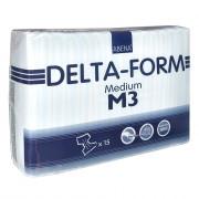 Абена Дельта-Форм / Abena Delta-Form - подгузники для взрослых M3, 15 шт.