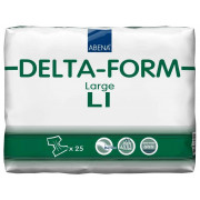 Абена Дельта-Форм / Abena Delta-Form - подгузники для взрослых L1, 25 шт.