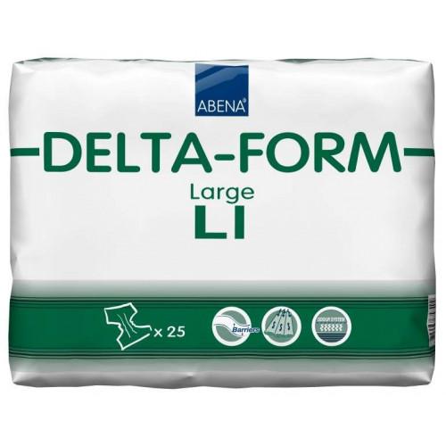 Abena Delta-Form / Абена Дельта-Форм - подгузники для взрослых L1, 25 шт.