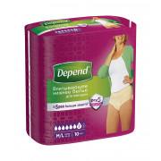 Depend / Депенд - женское впитывающее белье, размер M/L, 10 шт.