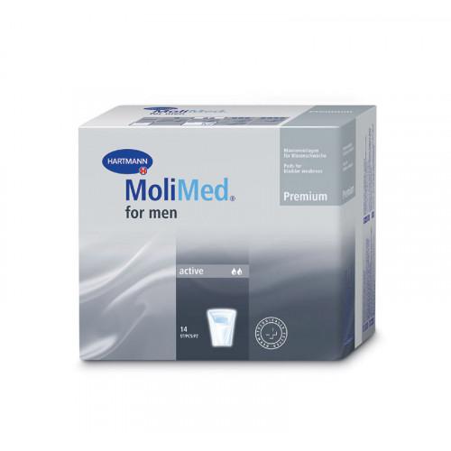 MoliMed Premium Active / МолиМед Премиум Актив - урологические прокладки для мужчин, 14 шт.