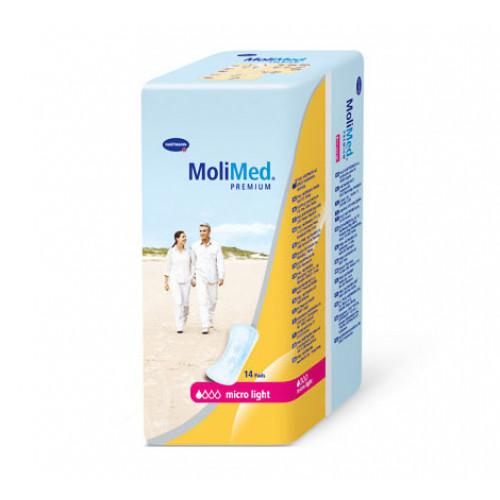 MoliMed Premium Micro Light / МолиМед Премиум Микро Лайт - урологические прокладки женские, 14 шт.