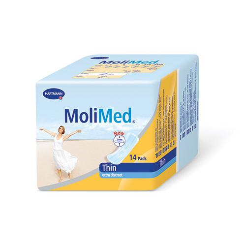 [недоступно] MoliMed Thin / МолиМед Ультратонкие - урологические прокладки, 14 шт.
