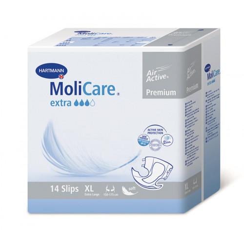 MoliCare Premium Extra / Моликар Премиум Экстра - подгузники для взрослых, XL, 14 шт.