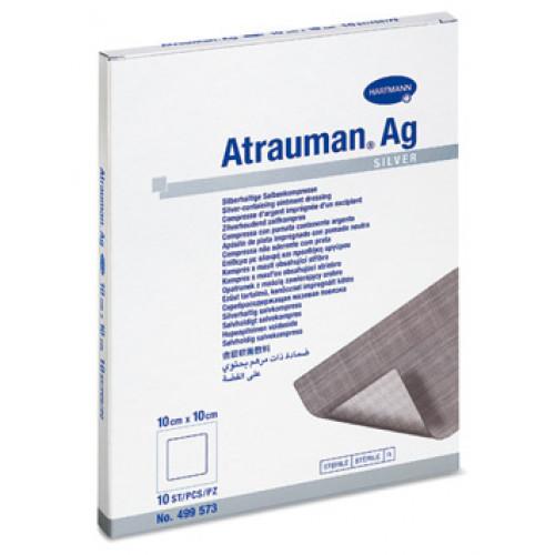 [недоступно] Atrauman Ag / Атрауман Аг - мазевая повязка с серебром, 10х10 см