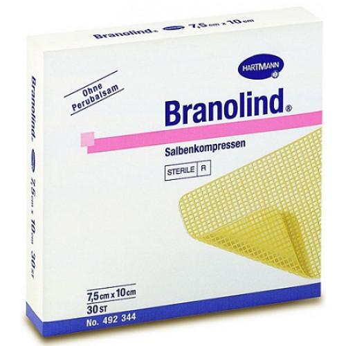 [недоступно] Бранолинд / Branolind - сетчатая покрывающая повязка, 7,5х10 см