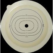 [недоступно] МС2002 - послеоперационная пластина, вырезаемое отверстие 10-100 мм, фланец 120 мм (6830)