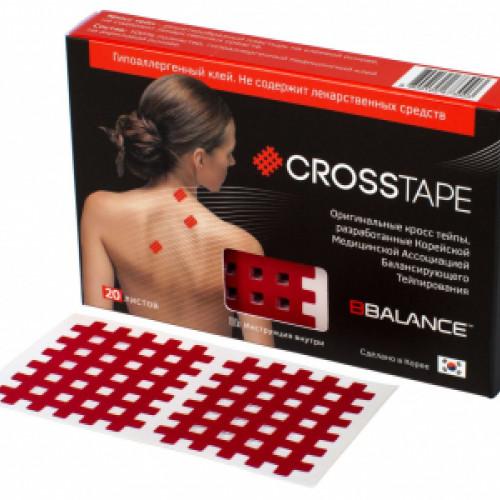 BB Cross Tape / БиБи Кросс Тейп - кросс тейп, 2,1x2,7 см, 20 шт.
