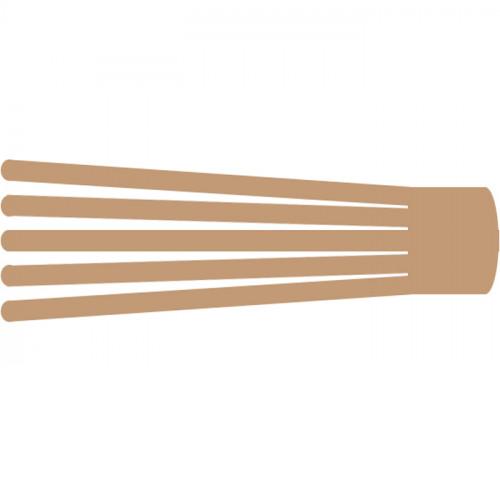 BB Edema Strip Max - кинезио тейп преднарезанный с усиленным клеем, бежевый, 5x25 см, 20 шт.